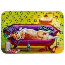 Corgi Home Alone Kitchen/Bath Mat