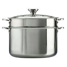 Stainless Steel 9-qt. Stock Pot with Lid