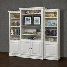 "French Restoration Kamran 86"" Oversized Set Bookcase"