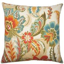 Danail Floral Cotton Throw Pillow
