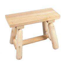 Straight Wood Garden Bench