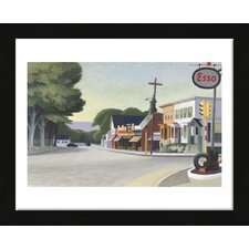 'Portrait of Orleans, 1950' by Edward Hopper Framed Painting Print