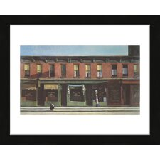 'Early Sunday Morning, 1930' by Edward Hopper Framed Painting Print