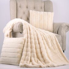 Grenville Rabbit Faux Fur Throw