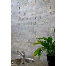 """Cladding 2"""" x 11.75"""" Stone Field Tile in Copper"""