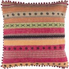 Cammi Striped Square Cotton Throw Pillow
