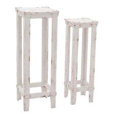 2 Piece Nesting Plant Stand Set