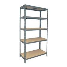 "Maxxi Steel 72"" H 5 Shelf Shelving Unit"