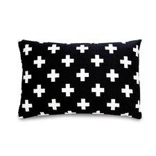 Cross Cotton Lumbar Pillow