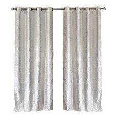 Lite Out Geometric Blackout Grommet Curtain Panels (Set of 2)