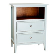 Lily 2 Drawer Nightstand