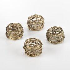 Metal Napkin Ring (Set of 4)