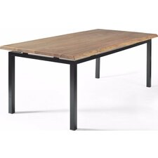George Walnut Dining Table with Live Edge