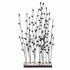 "Grasses 31"" Metal Decor"
