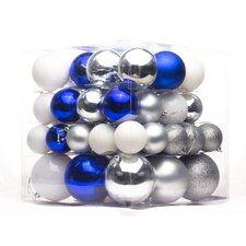 62 Piece Ball Ornament Set