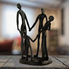 Family Circle Figurine