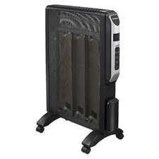 1,500 Watt Micathermic Radiant Panel Heater with Thermostat