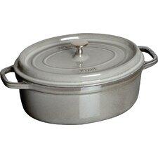 Cast Iron Oval Cocotte