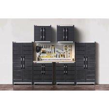 6 Piece Garage Complete Storage System Set