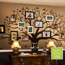 QUICK VIEW. Family Tree Wall Decal