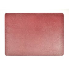 Andeline Fire Buffalo Leather Placemat (Set of 4)