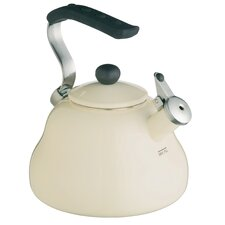 Le'Xpress 2L Stainless Steel Stovetop Kettle in Cream