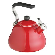 Le'Xpress 2L Induction Safe Stovetop Kettle in Red