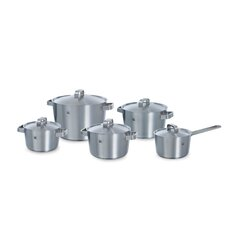 Conical Plus 5 Piece Stainless Steel Cookware Set