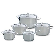 Profiline 5 Piece Stainless Steel Cookware Set
