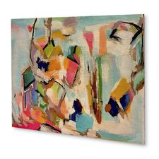 'Flirting with Spring' Painting Print on Plaque