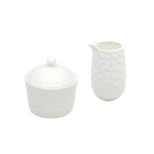 Daxton 2 Piece Covered Sugar Bowl & Creamer Set