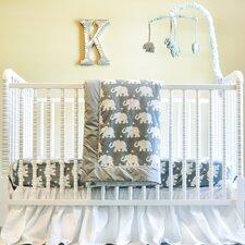 Indie Elephant 6 Piece Crib Bedding Set