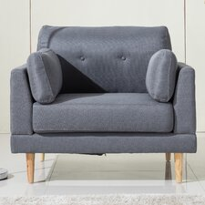 Ultra Plush Linen Fabric Armchair