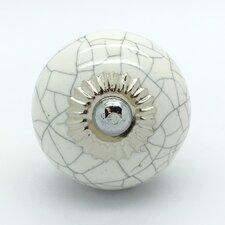 Crackle Round Knob (Set of 4)