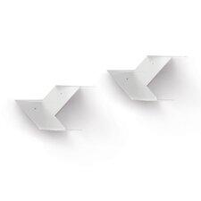 Fin 2 Shelf Accent Shelf