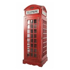 Anglia Phone Box Figurine