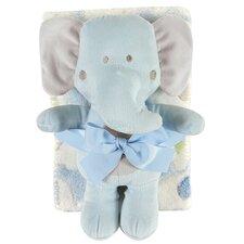 Blanket and Elephant Toy Set