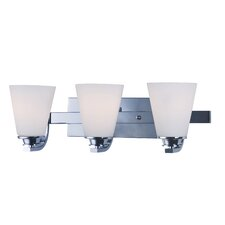 Conical 3-Light Vanity Light