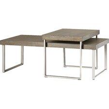 Asine 2 Piece Nested Coffee Table Set