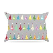 Snap Studio 'Crazy Trees' Rainbow Pillow Case