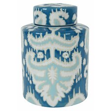 Blatt Decorative Lidded Jar