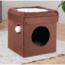"14.75"" Miguel Fold and Store Collapsible Cat Condo"