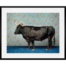 'Bull' by Catherine Ledner Framed Photographic print