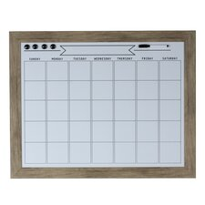 "Beatrice Magnetic Wall Mounted Whiteboard, 23"" x 29"""