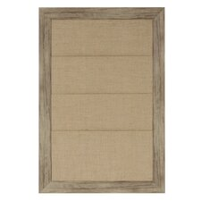 Beatrice Framed Wall Organization Bulletin Board, 2.4' x 1.7'