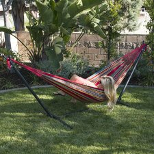 quick view cotton hammock with stand