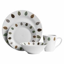 16 Piece Porcelain Dinnerware Set