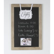 "Beatrice Magnetic Wall Mounted Chalkboard, 18"" x 27"""