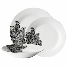 Avie Prince 12 Piece Dinnerware Set