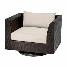 Barbados Swivel Chair with Cushions